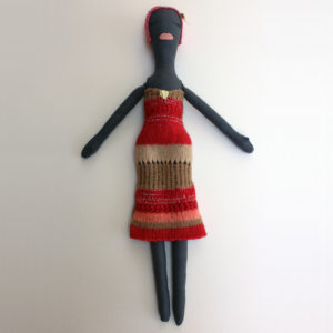 Long Knit Tube Dress Couture Doll