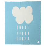 Rain Cloud Organic Cotton Blanket