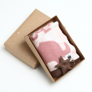 Animal Crackers Blanket with Gift Box