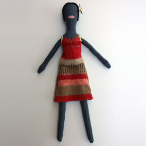 Knit Dress Couture Doll