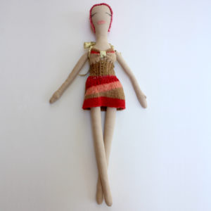 Short Knit Tube Dress Couture Doll