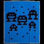 Alien Invaders Cashmere Blanket