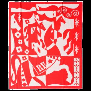 Merry Go Round Cashmere Blanket
