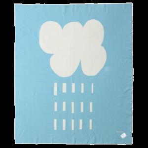 Rain Cloud Organic Cotton Blanket