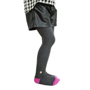 Grey Chevron Stitch Leggings