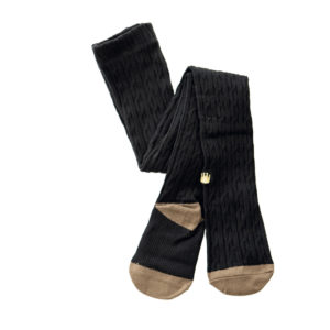 Cable Leggings Black