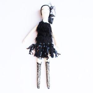 Flapper Girl Louise Handmade Doll