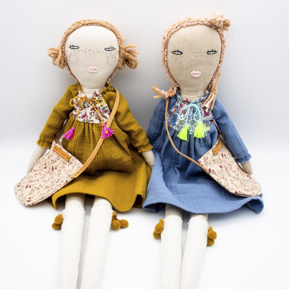handmade dolls personalized doll plush doll heirloom doll custom doll Hazel Hairstyle handmade doll fabric doll dolls